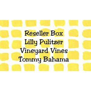 Reseller Box Lilly Pulitzer~Vineyard Vines & More